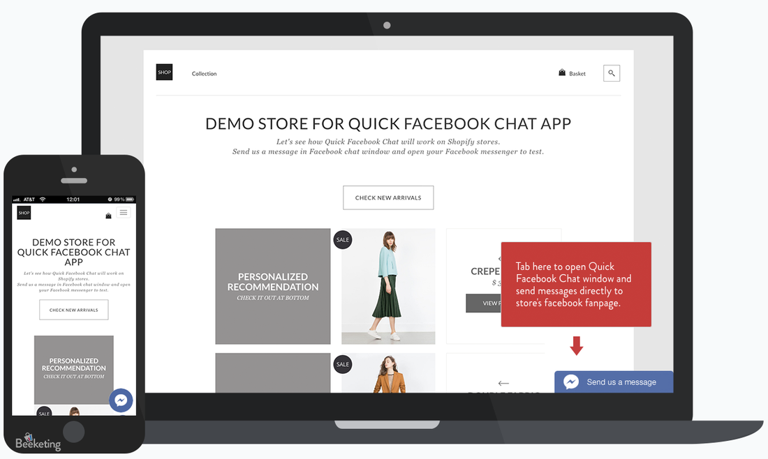 Facebook Chat by Beeketing
