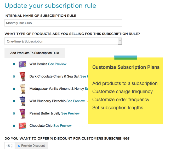 Recurring Billing & Subscriptions by ReCharge